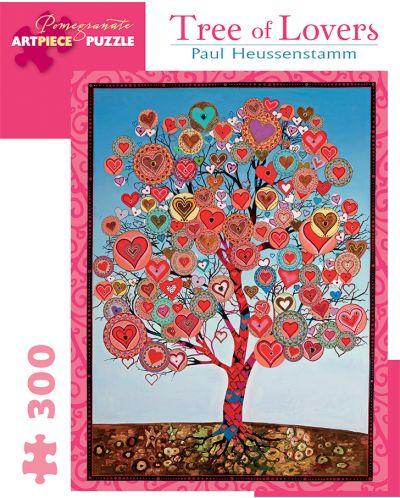 Puzzle Pomegranate de 300 piese - Copacul indragostitilor, Paul Heussenstamm - 1