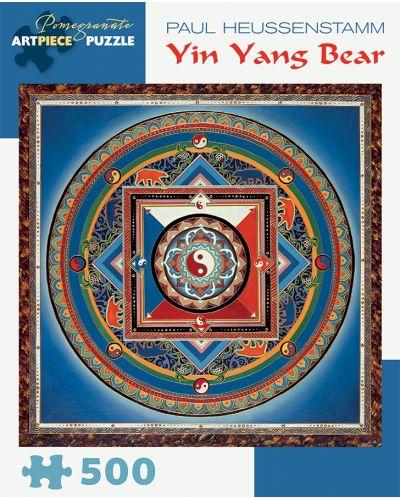 Puzzle Pomegranate de 500 piese - Yin Yang Bear, Paul Heussenstamm - 1