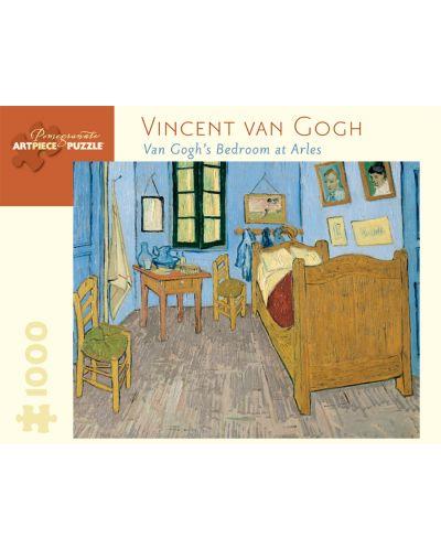 Puzzle Pomegranate de 1000 piese - Dormitor in Arles, Van Gogh - 1