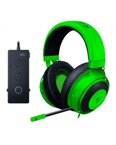 Casti gaming Razer Kraken Tournament Edition - green - 1