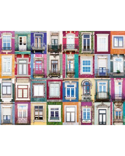 Puzzle  Ravensburger de 1500 piese - Fatada in Portugalia - 2