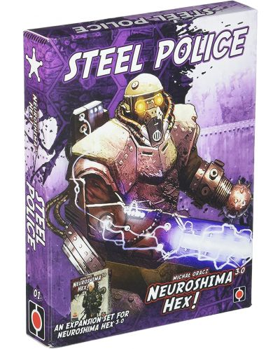 Neuroshima Hex 3.0 Board Game: Steel Police Expansion - 1