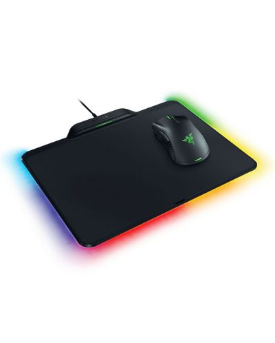 Set gaming mouse Razer Mamba + pad Firefly Hyperflux - 1