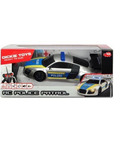Masina cu telecomanda Dickie Toys - Patrula de politie - 6