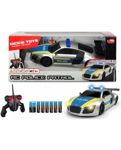 Masina cu telecomanda Dickie Toys - Patrula de politie - 1