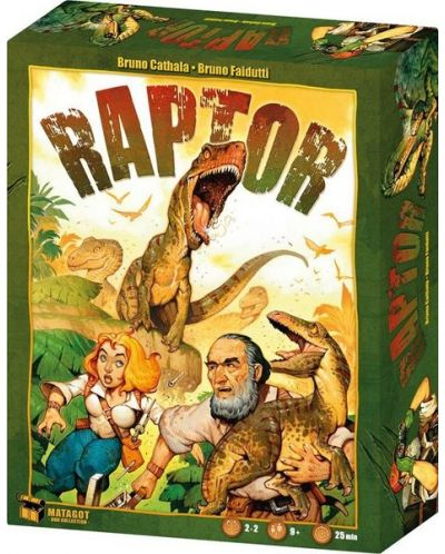 Joc de societate Raptor - de familie, de strategie - 1