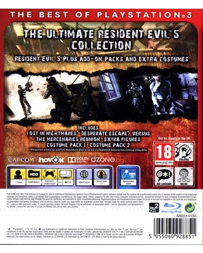 Resident Evil 5 Gold: Move Edition - Essentials (PS3) - 3