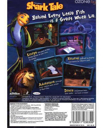 Shark Tale - Best Of Activision (PC) - 3