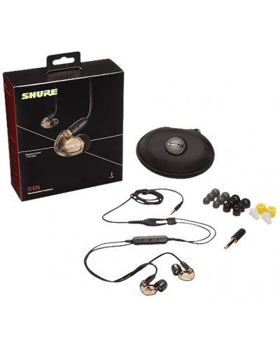 Casti cu microfon Shure - SE535, bronz - 3