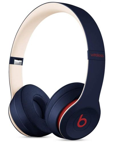 Casti Beats by Dre - Solo 3 Wireless, Beats Club Collection, club navy - 1