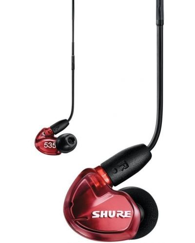 Casti cu microfon Shure - SE535 LE, rosii - 2