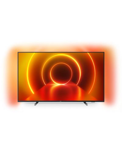 "Televizor smart Philips - 43PUS7805/12, 43"", 4K UHD, Ambilight 3, gri-inchis - 1"