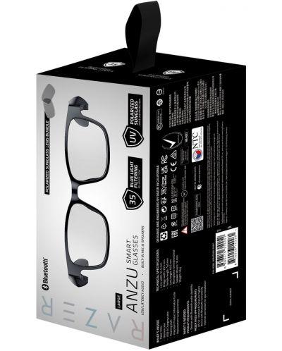 Ochelari smart Razer - Anzu Rectangle Blue Light + Sunglass L, negri - 6
