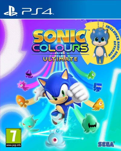 Sonic Colours Ultimate (PS4) - 1