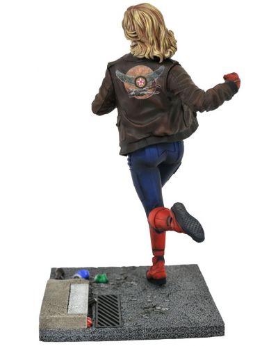Statueta Diamond Select Marvel: Captain Marvel - Cap. Marvel (Movie premier), 28 cm - 2