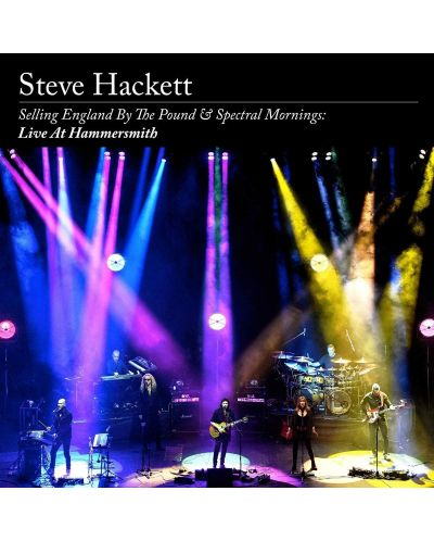 Steve Hackett - Selling England By The Pound & Spectral Mornings (2 CD+Blu-Ray+DVD) - 1