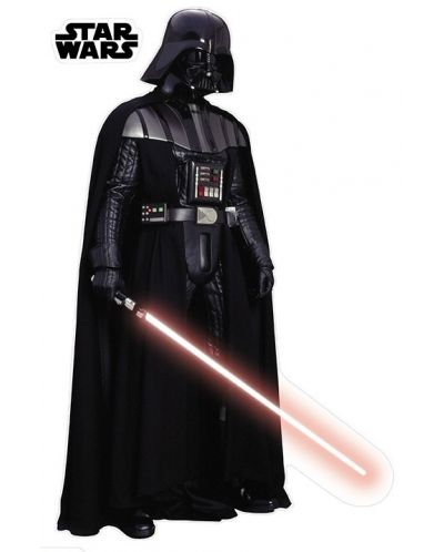 Sticker gigant ABYstyle Movies: Star Wars - Darth Vader - 1