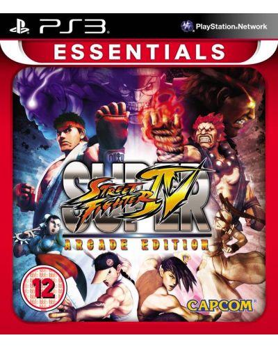 Super Street Fighter IV: Arcade Edition - Essentials (PS3) - 1