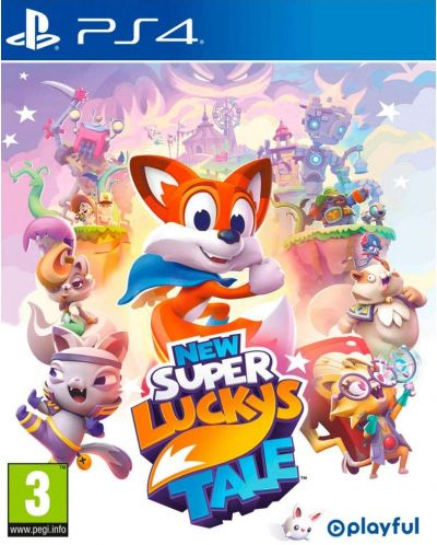 New Super Lucky's Tale (PS4) - 1