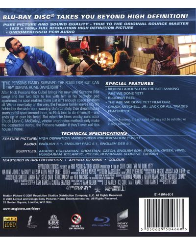 Are We Done Yet? (Blu-Ray) - 2