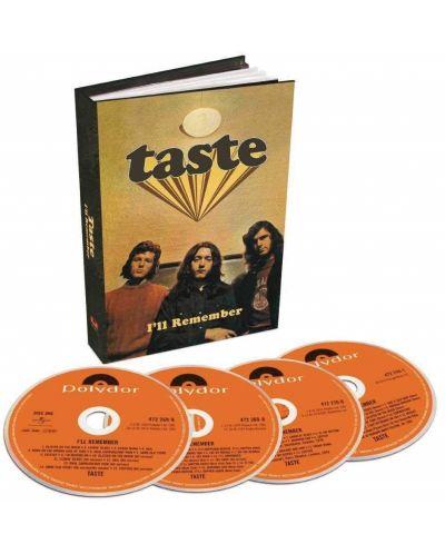 Taste - i'll Remember - (4 CD) - 2