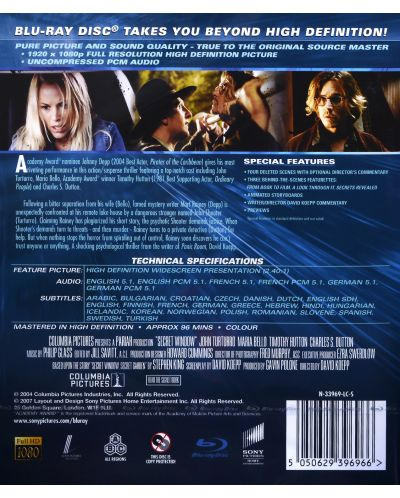 Secret Window (Blu-ray) - 4