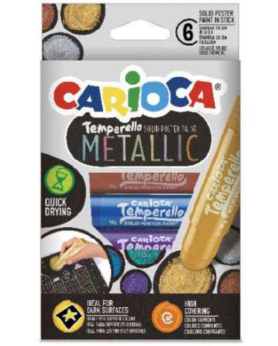 Tempera Carioca - Temperello metallic, 6 culori - 1