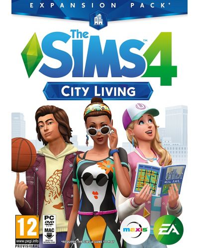 The Sims 4 City Living (PC) - 1