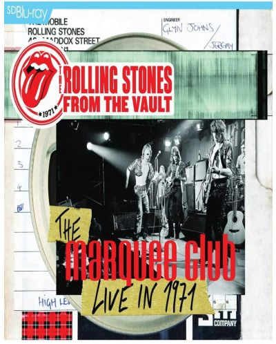 The Rolling Stones - From the Vault The Marquee Club Live In 1971 - (Blu-ray) - 1