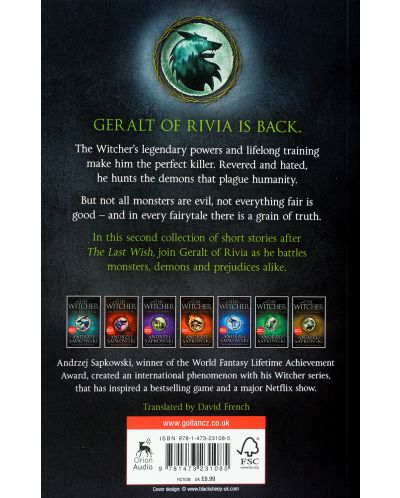 The Witcher Boxed Set - 10