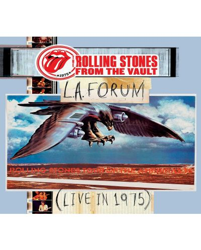 The Rolling Stones, - From the Vault: L.A. Forum (Live In 1975) - (CD + 2 DVD) - 1