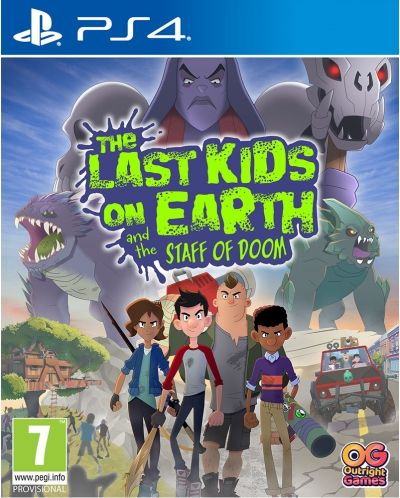 The Last Kids on Earth and The Staff of Doom (PS4) - 1