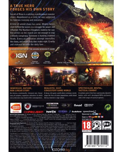 The Witcher 2 Assassins Of Kings Enhanced Edition (PC) - 5