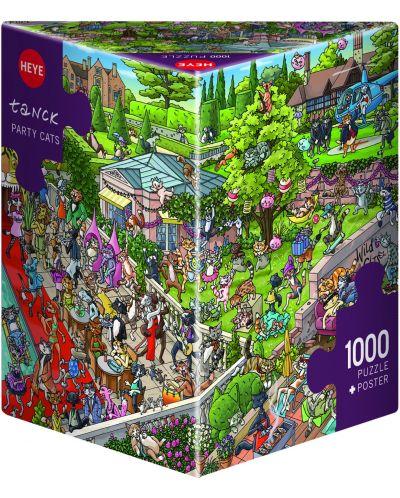 Puzzle Heye de 1000 piese - Petrecerea pisicilor, Boirgit Tanc - 1