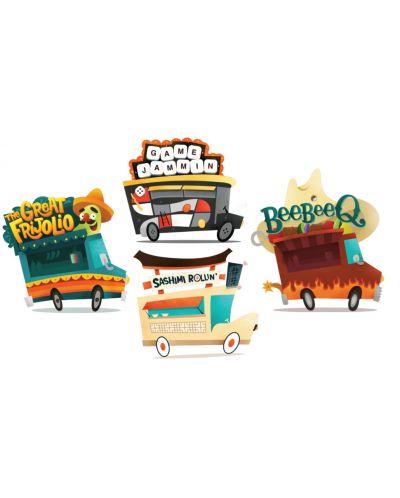 Joc de societate Truck Off: The Food Truck Frenzy - de familie - 3