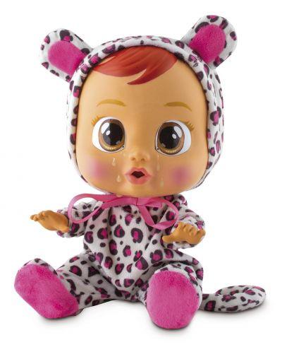 Papusa bebe plangacios IMC Toys Cry Babies, cu lacrimi - Lea - 4