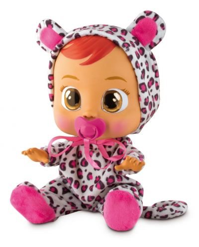 Papusa bebe plangacios IMC Toys Cry Babies, cu lacrimi - Lea - 1