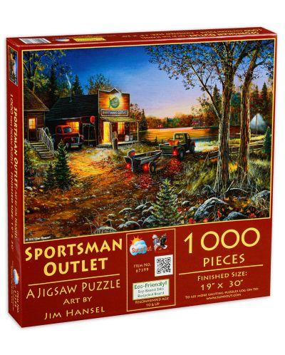 Puzzle SunsOut de 1000 piese - Outlet sportiv, Jim Hansel - 1
