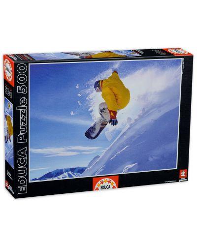 Puzzle Educa de 500 piese - Snowboard - 1