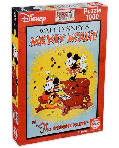 Puzzle Educa de 1000 piese - Sarbatoarea lui Mickey Mouse - 1