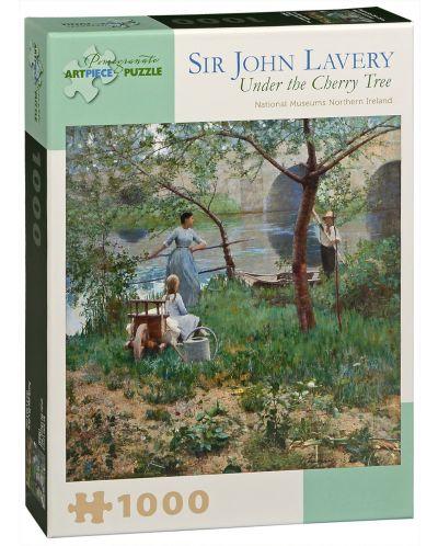Puzzle Pomegranate de 1000 piese - Sub cires, Sir John Lavery - 1