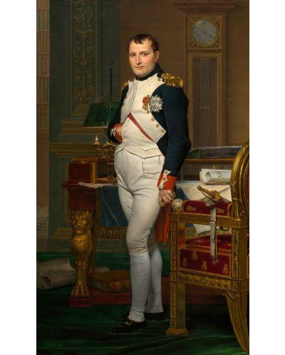 Puzzle D-Toys de 1000 piese - Imparatul Napoleon in biroul sau in Tuileries, Jacques-Louis David - 2