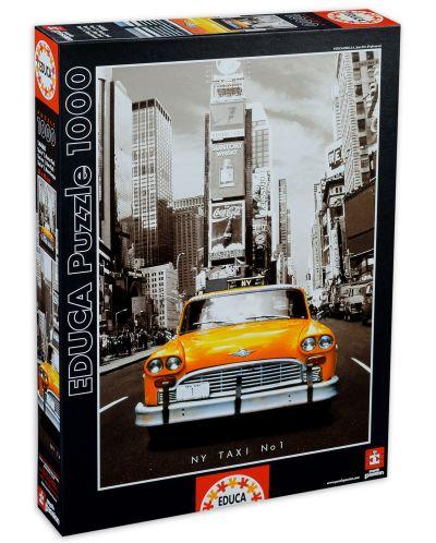 Puzzle Educa de 1000 piese - Taxi in New York - 1