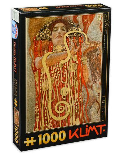 Puzzle D-Toys de 1000 piese - Gustav Klimt, - 1