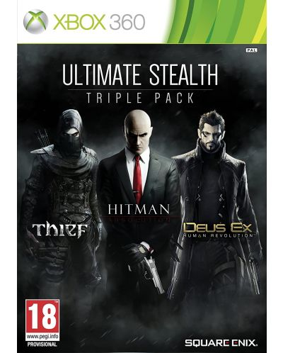 Ultimate Stealth Triple Pack (Xbox 360) - 1
