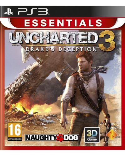 Uncharted 3 Drake's Deception - Essentials (PS3) - 1
