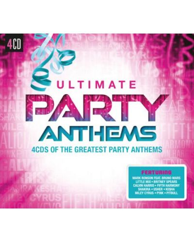 Various Artists - Ultimate... Party Anthems (CD) - 1