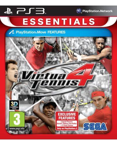 Virtua Tennis 4 - Essentials (PS3) - 1