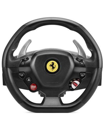 Volan cu pedale Thrustmaster T80 Ferrari 488 GTB Edition - PC, PS4 - 2