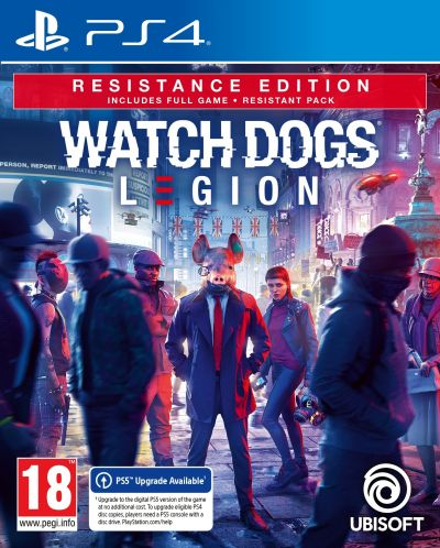 Watch Dogs: Legion - Resistance Edition (PS4) - 1